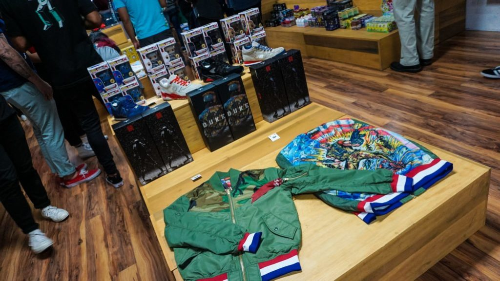 BAIT x GI Joe x Alpha Industries Launch Recap for Comic Con July 2017