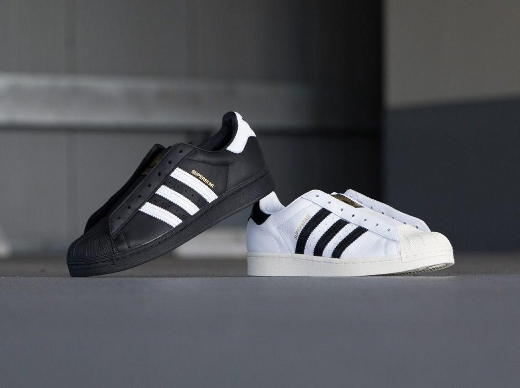 ADIDAS SUPERSTAR LACELESS(BKACK)