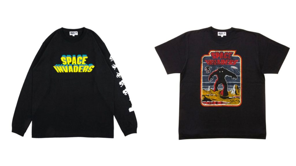 Sync. SPACE INVADERS TEE