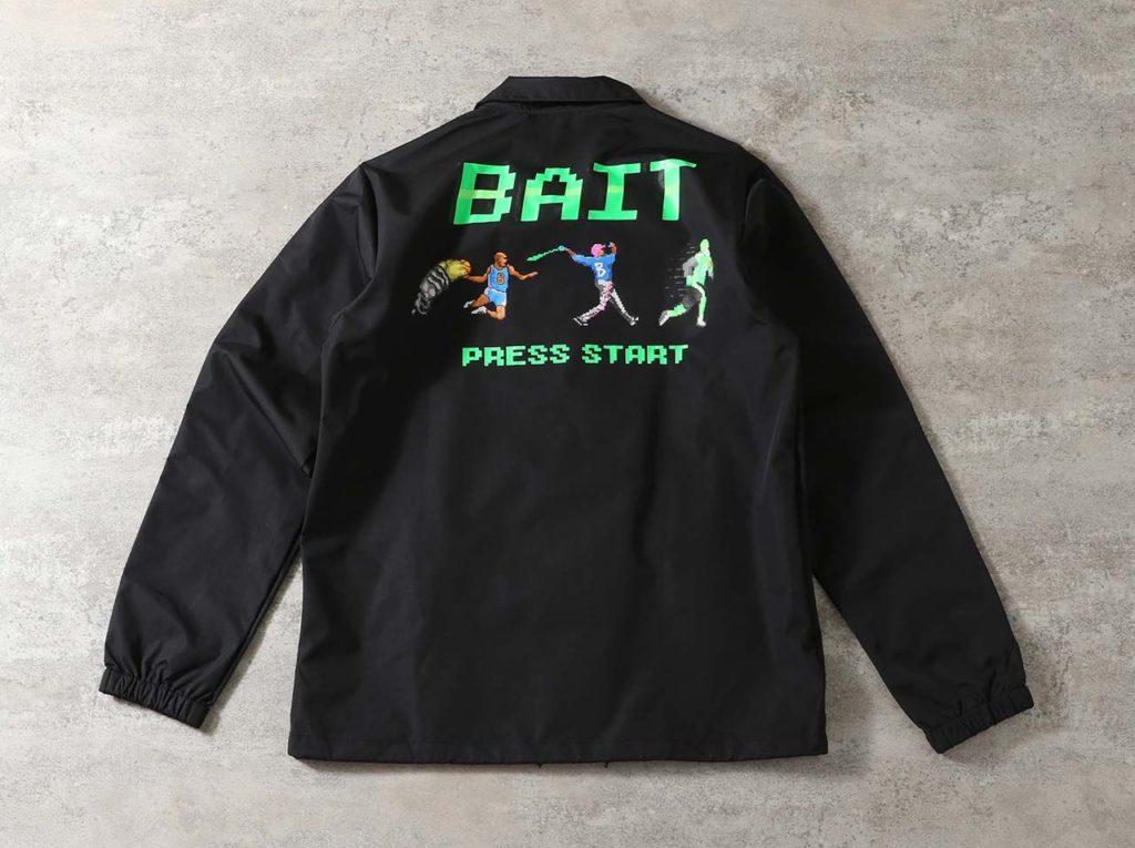 8BIT PRESS START COACH JACKE – 206-BAT-JKT-001
