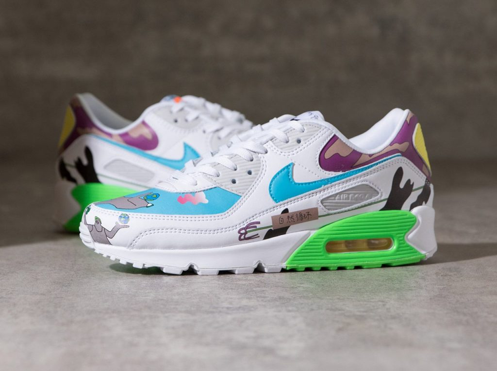 NIKE FLYLEATHER AIR MAX 90 QS – CZ3992-900