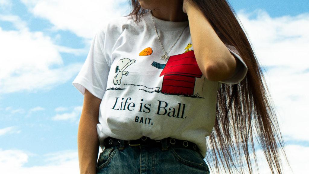 BAIT × Peanuts Basketbal