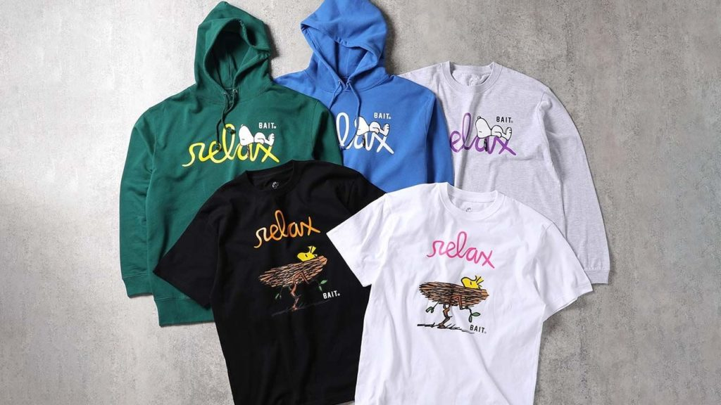【渋谷PARCO限定】BAIT X RELAX COLLECTION