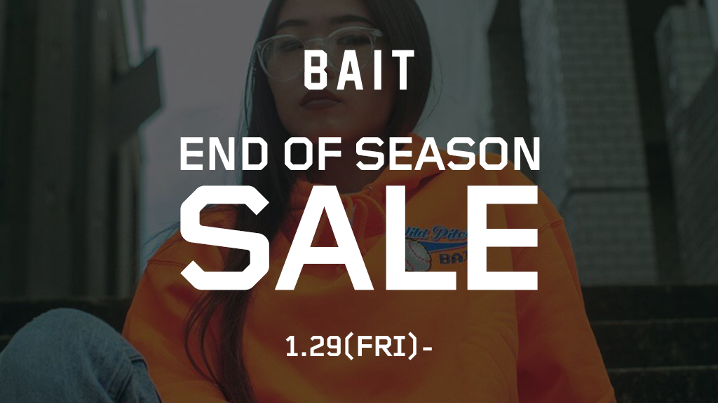 【END OF SEASON SALE】最大80%OFF