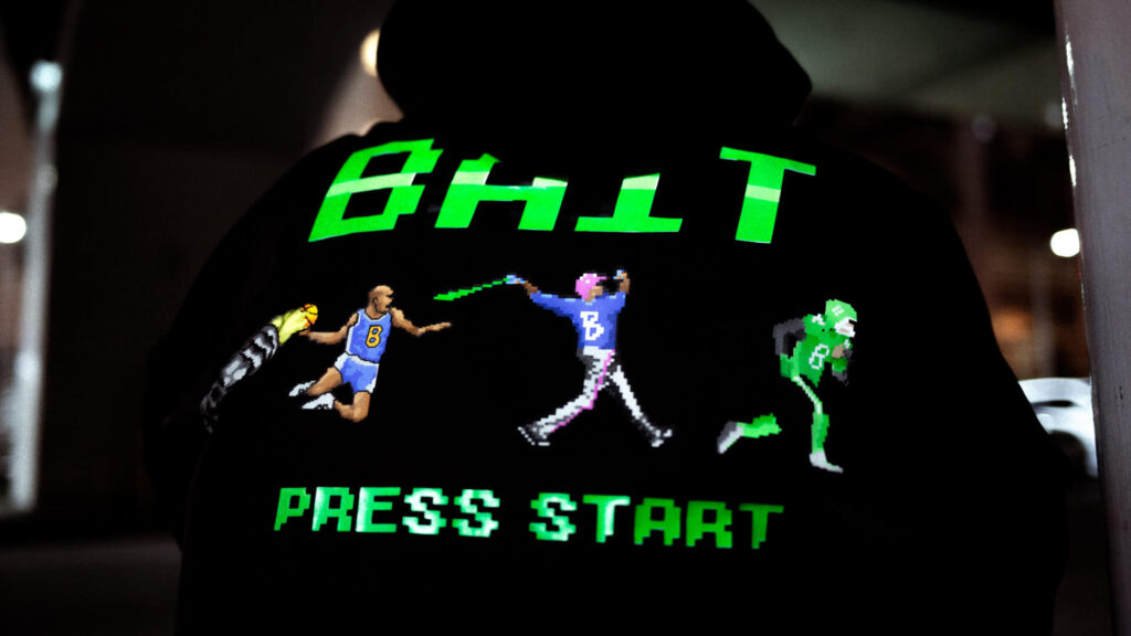 """STAFF STYLING """"8bit Sports"""""""