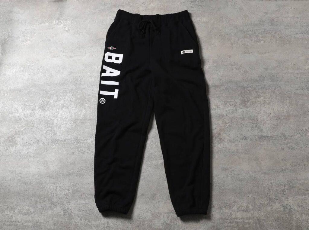 BAIT BASICS SWEATPANTS – 214-BAT-PNT-001 – BLACK