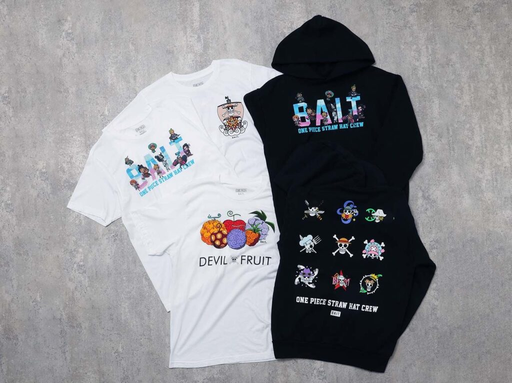 BAIT ONE PIECE Capsule Collection