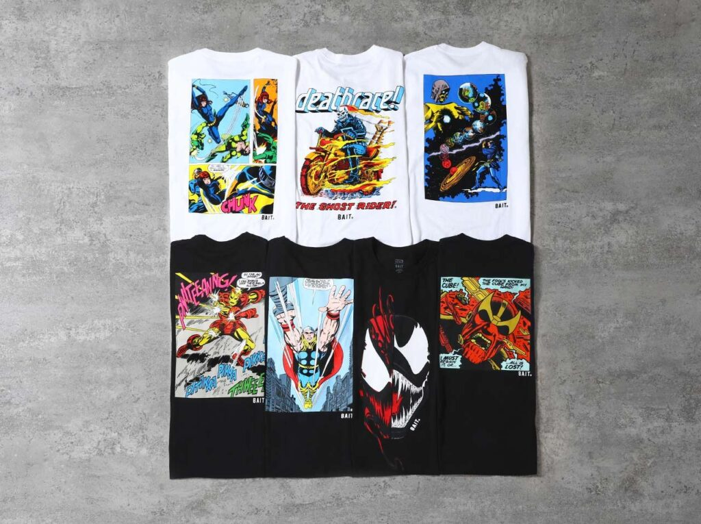 BAIT MARVEL NEW COLLECTION