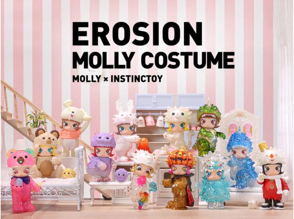 POP MART – MOLLY × INSTINCTOY EROSION MOLLY COSTUME シリーズ