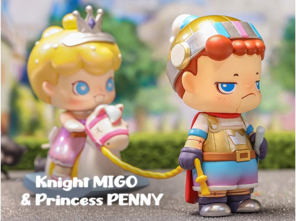POP MART – Knight MIGO & Prinsess PENNY