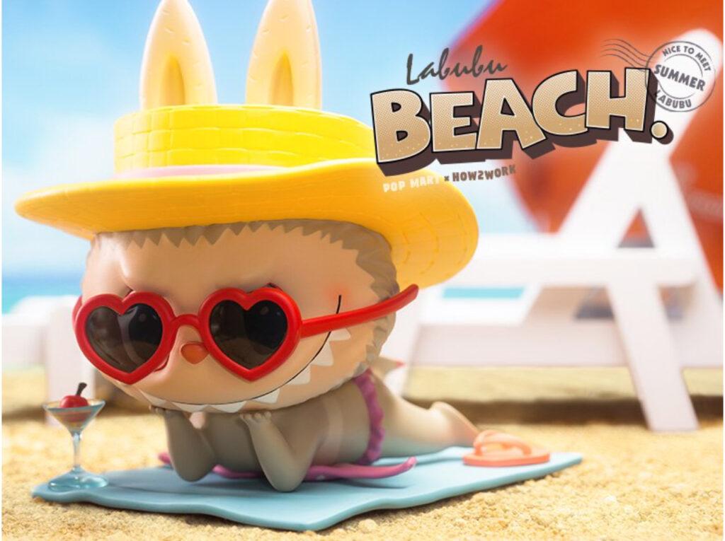POP MART – LABUBU BEACH ビッグサイズ