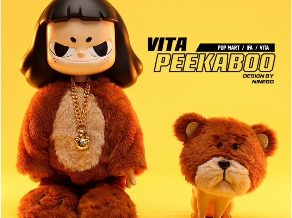 POP MART – VITA PEEKABOO ビッグサイズ