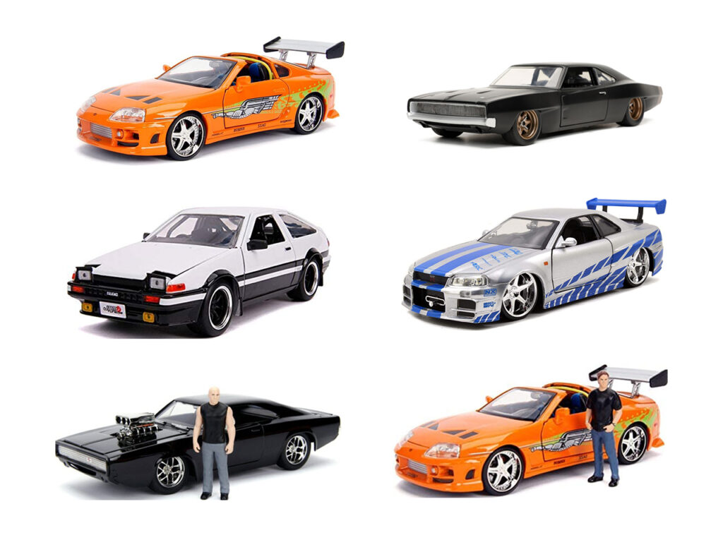 JADA TOYS – 「FAST & FURIOUS(ワイルド・スピード)」1/24 ダイキャストカー